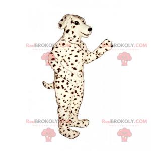 Dog mascot - Dalmatian - Redbrokoly.com