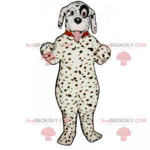 Hundemaskott - dalmatiner med krage - Redbrokoly.com
