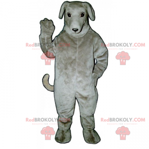 Dog mascot - Greyhound - Redbrokoly.com