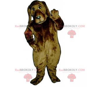 Dog mascot - St Hubert - Redbrokoly.com