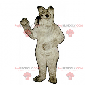 Pies maskotka - Yorkshire - Redbrokoly.com