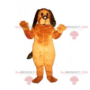 Lang-eared hund maskot - Redbrokoly.com