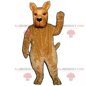 Hundemaskottchen mit spitzen Ohren - Redbrokoly.com