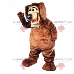 Maskot psa s límcem a medailí - Redbrokoly.com