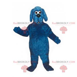Blue dog mascot - Redbrokoly.com