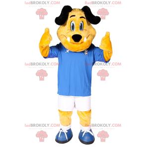 Maskotka psa w stroju piłkarskim - Redbrokoly.com