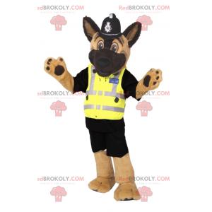 Pies maskotka przebrany za policjanta - Redbrokoly.com