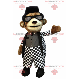 Dog mascot in Rock'n'roll outfit - Redbrokoly.com