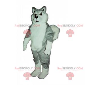 Wolf dog mascot - Redbrokoly.com