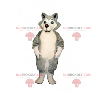 Little Husky mascot - Redbrokoly.com