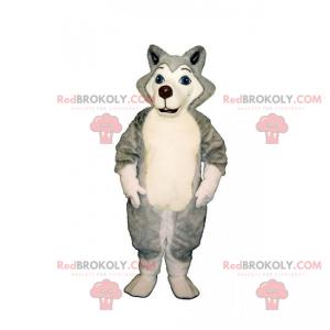 Malý maskot Husky - Redbrokoly.com