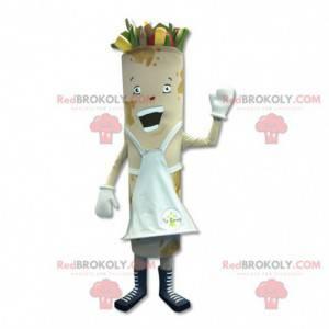 Spring roll lumpia mascot - Redbrokoly.com