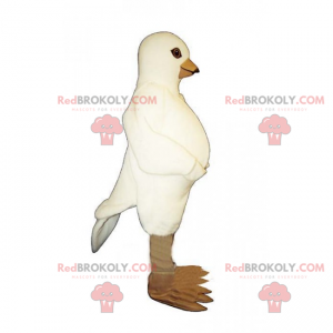 Maskotka gołąb - Redbrokoly.com
