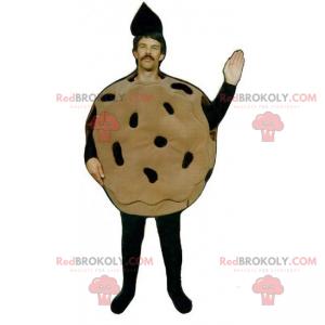 Chocolate chip cookie mascot - Redbrokoly.com