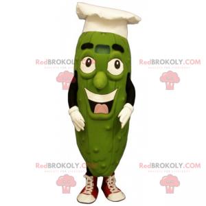 Marynata maskotka z kapeluszem szefa kuchni - Redbrokoly.com