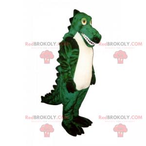 White belly crocodile mascot - Redbrokoly.com