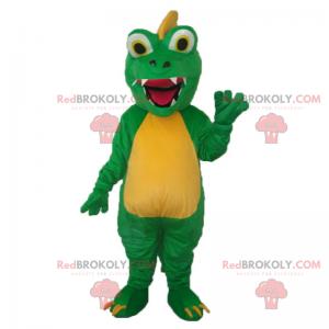 Maskot krokodýla velké oči - Redbrokoly.com