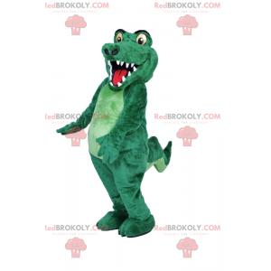 Smiling crocodile mascot - Redbrokoly.com