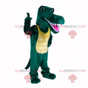 Usmívající se maskot krokodýla - Redbrokoly.com
