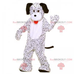 Dalmatinisches Maskottchen mit schwarzen Ohren - Redbrokoly.com