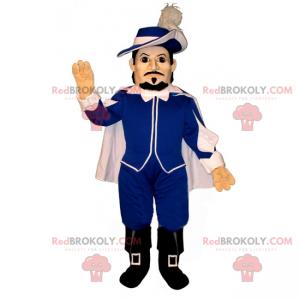 D'Artagnan maskot - Redbrokoly.com