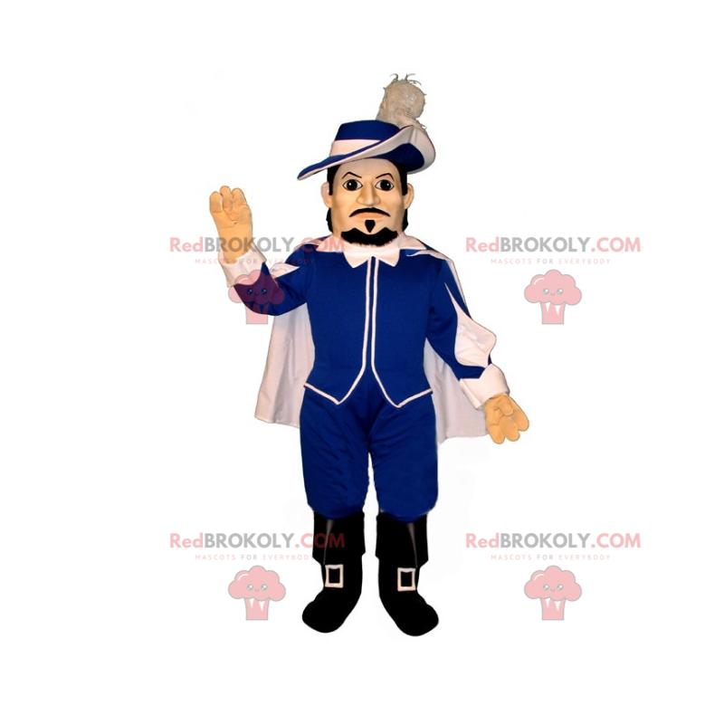 D'Artagnan mascot - Redbrokoly.com
