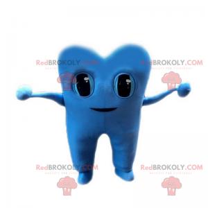 Maskotka niebieski ząb - Redbrokoly.com