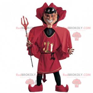 Devil mascot - Redbrokoly.com