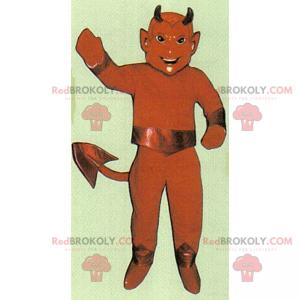Usmívající se ďábel maskot - Redbrokoly.com