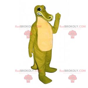 Dino maskot s dlouhým nosem - Redbrokoly.com