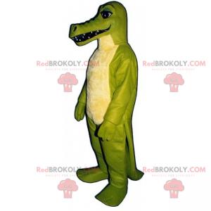 Long-toothed dino mascot - Redbrokoly.com