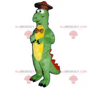 Dino maskot se skotským kloboukem - Redbrokoly.com