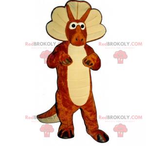 Dino triceratops mascot - Redbrokoly.com
