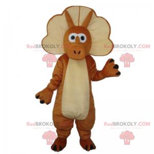 Dinosaur maskot - Triceratops - Redbrokoly.com