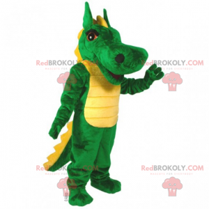 Long nosed dinosaur mascot - Redbrokoly.com
