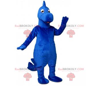 Blaues Dinosaurier-Maskottchen - Redbrokoly.com
