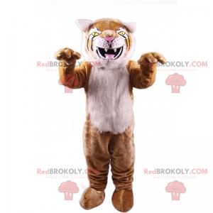 Feline mascot - Redbrokoly.com