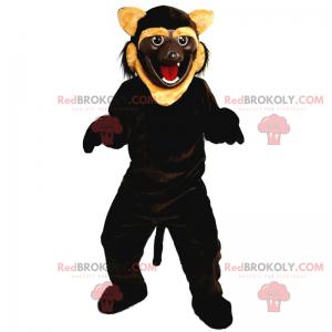 Brown feline mascot - Redbrokoly.com