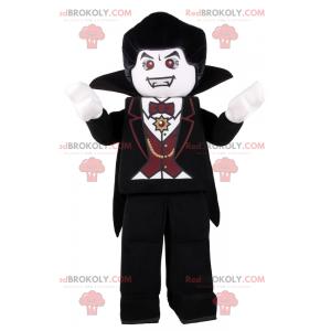 Lego figurine mascot - Dracula - Redbrokoly.com