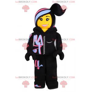 Lego figurine mascot - hip-hop dancer - Redbrokoly.com