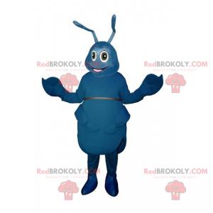 Mascote das formigas azuis - Redbrokoly.com