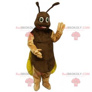 Brun maur maskot - Redbrokoly.com