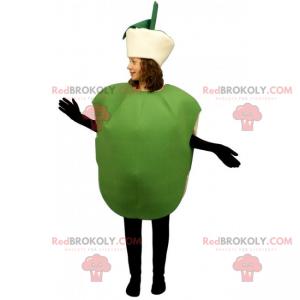 Fruktmaskott - Grønt eple - Redbrokoly.com