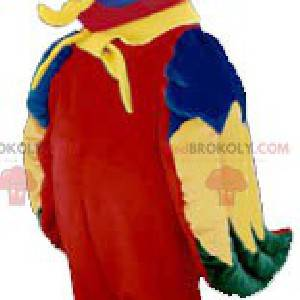 Colorful parrot mascot - Redbrokoly.com