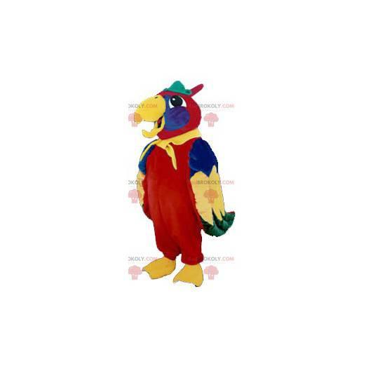 Maskotka kolorowa papuga - Redbrokoly.com
