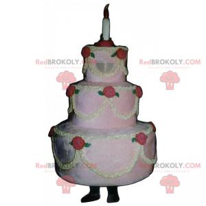 Bruidstaart mascotte - Redbrokoly.com