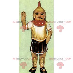 Gladiator mascot - Redbrokoly.com