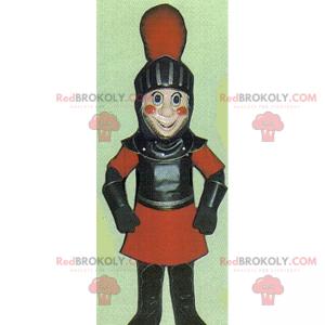 Smilende gladiatormaskot - Redbrokoly.com