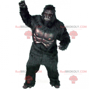 Gorilla mascotte - Redbrokoly.com