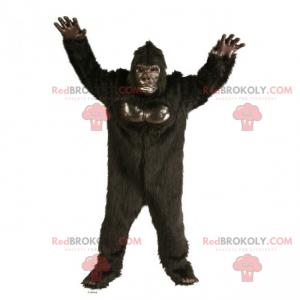 Mascotte bruine gorilla - Redbrokoly.com